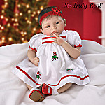 Noelle's First Christmas Lifelike Collectible Baby Girl Doll: So Truly Real