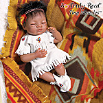 Tiny Miracles Baby Bird Song Native American Style Newborn Baby Doll: So Truly Real