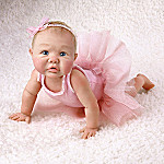 Tutu Tiny Ballerina: Collectible Miniature Baby Girl Doll
