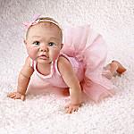 Tutu Tiny Ballerina: Collectible Miniature Baby Girl Doll