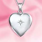 #1 Mom Sterling Silver Heart Shaped Pendant Necklace: Gift For Mom