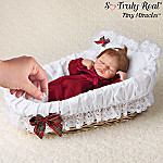 Tiny Miracles Emmy's Christmas Ensemble: Lifelike Christmas Baby Doll With Accessories
