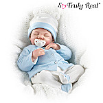 Playfully Real Children's Lifelike Poseable Play Doll: Toy Baby Boy Doll