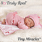 God Kept His Promise And Brought You Home Lifelike Newborn Baby Doll: So Truly Real