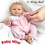 So Truly Real Baby Mine Baby Doll: Collectible Realistic Baby Doll For Girls