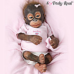 Little Umi Orangutan Baby Doll: Collectible Monkey Doll