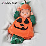 Tiny Miracles Pun'kin: Collectible Halloween Realistic Baby Doll - So Truly Real