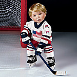 He Shoots He Scores Little Boy Doll: Collectible All-American Hockey Player Doll