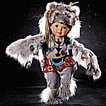 Little Grey Wolf Doll