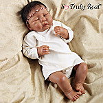 Newborn Baby Raven Wing So Truly Real Lifelike Doll
