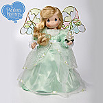 Precious Moments Color The World With Peace Collectible Porcelain Angel Doll