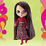 Brunette Blythe Doll