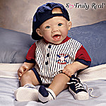 Michael The Little Slugger So Truly Real Lifelike Baby Doll