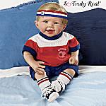 Daniel, The Little Forward Doll So Truly Real Lifelike Baby Doll