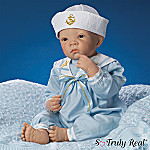 Waltraud Hanl Anchors Aweigh Andrew So Truly Real Lifelike Baby Doll