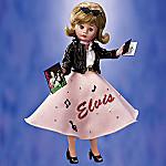 Madame Alexander Backstage With Elvis Doll