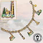 Thomas Kinkade Beacon Of Hope Charm Bracelet
