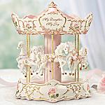 Precious Blossoms Musical Carousel