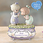 Precious Moments Sisters Are Forever Music Box