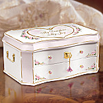 My Daughter My Joy Wooden Musical Jewelry Box