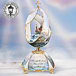 Thomas Kinkade Beacon Of Hope Musical Egg