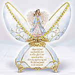 Peaceful Blessing Collectible Guardian Angel Music Box