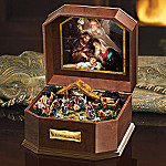 The Nativity Christmas Music Box