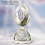 Thomas Kinkade Serenity Garden Porcelain Music Box