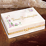 Dearest Granddaughter Collectible Porcelain Music Box