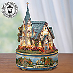 Thomas Kinkade The Lord's House Illuminated Music Box