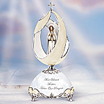 Our Lady Of Fatima Religious Collectible Musical Egg