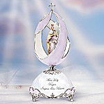 Our Lady Of Mt. Carmel Religious Collectible Musical Egg