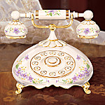 Hello Daughter Gift Porcelain Telephone Music Box