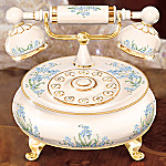 Dearest Daughter Collectible Porcelain Telephone Music Box