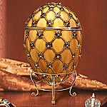 Peter Carl Faberge Style Collectible Coronation Egg Reproduction