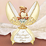 Beary Sweet Granddaughter Teddy Bear Music Box Granddaughter Gift