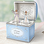 Blessings Of Peace Guardian Angel Musical Worry Box