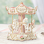 My Granddaughter, My Joy Animated Collectible Musical Carousel: Granddaughter Gift