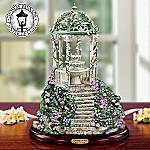 Tranquil Garden By Thomas Kinkade Tabletop Indoor Water Fountain With Garden Art