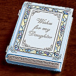 Wishes For My Daughter Collectible Music Box Gift For Daughter