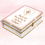 Blessed Granddaughter Collectible Prayer Book Music Box