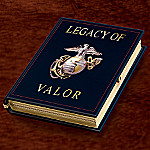 Legacy Of Valor Marine Tribute Music Box: USMC Gift