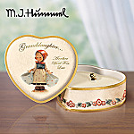 M.I. Hummel(R) Precious Granddaughter Collectible Porcelain Music Box Gift