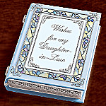 Wishes For My Daughter-In-Law Collectible Music Box Gift for Daughters-In-Law