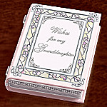 Wishes For My Granddaughter Collectible Wish Book Music Box: Gift For Granddaughters