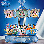 Disney Mickey Mouse And Friends Carousel Music Box: Love Makes The World Go 'Round