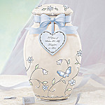 A Year Of Wishes Gift For My Daughter-in-Law Porcelain Musical Ginger Jar