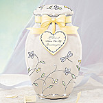 A Year Of Wishes Gift For My Granddaughter Porcelain Musical Ginger Jar