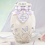 A Year Of Wishes For My Sister Porcelain Musical Ginger Jar