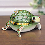 Little Charmer Limoges Style Collectible Turtle Music Box: Turtle Lover Gift